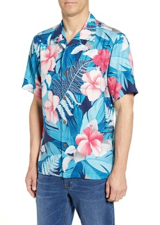 Tommy Bahama Hibiscus Hues Silk Sport Shirt