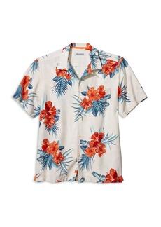 Tommy Bahama Hilo Hibiscus Silk Regular Fit Camp Shirt