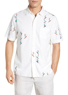 Tommy Bahama Hula Gals Camp Shirt