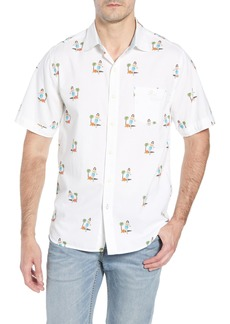 Tommy Bahama Hula Oasis Regular Fit Sport Shirt