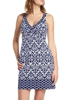 Tommy Bahama Ikat Diamond Cover-Up Dress