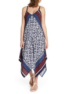 Tommy Bahama Ikat Diamond Cover-Up Scarf Dress