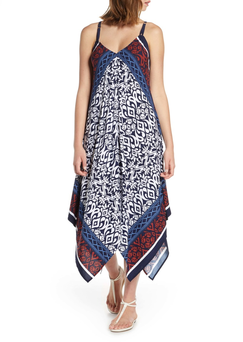 Tommy Bahama Ikat Diamond Cover-Up Scarf Dress