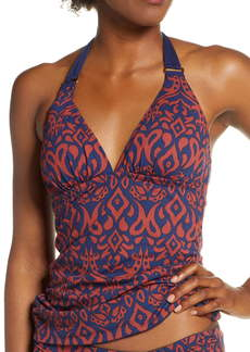 Tommy Bahama Ikat Diamonds Reversible Halter Tankini Top