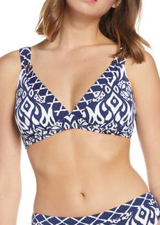 Tommy Bahama Ikat Gathered Bikini Top