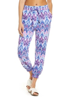 Tommy Bahama Ikat Mirage Cover-Up Jogger Pants