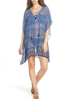 Tommy Bahama Indigo Cowrie Diamonds Cover-Up Tunic