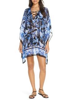 Tommy Bahama Indigo Garden Cover-Up Tunic Dress