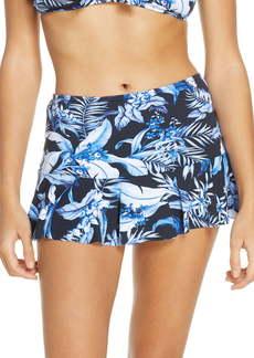 Tommy Bahama Indigo Garden Skirted Bikini Bottoms