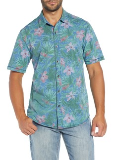 Tommy Bahama Indigo Jungle Topia Camp Shirt