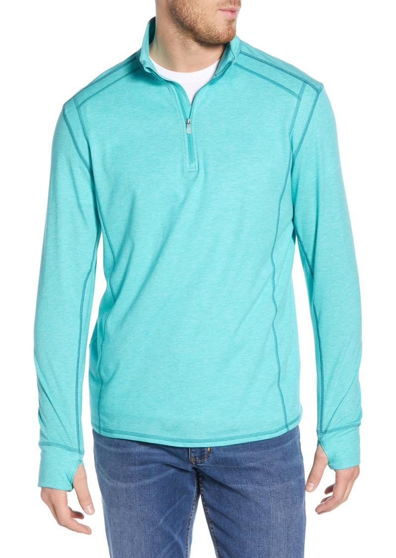 Tommy Bahama Island Active Half-Zip Sweatshirt
