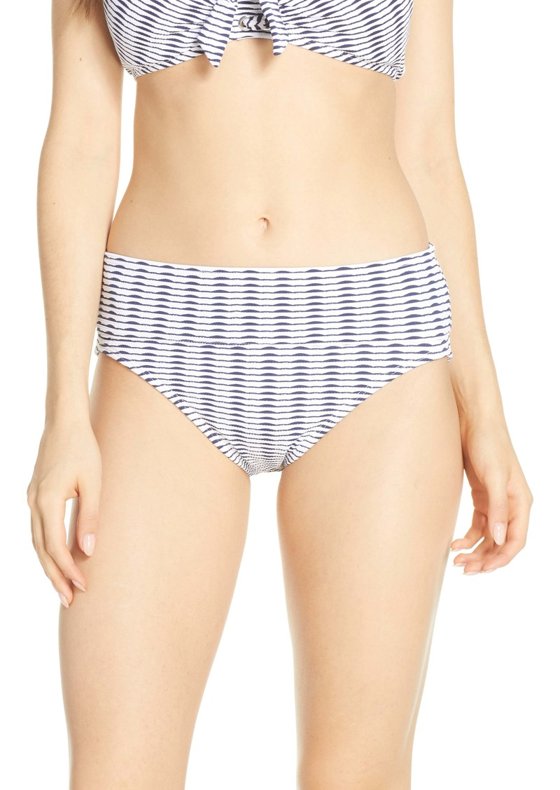 Tommy Bahama Island Cays Stripe High Waist Bikini Bottoms