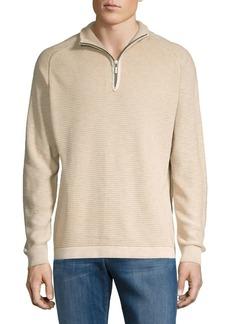 Tommy Bahama Island Tide Half-Zip Cotton Sweater