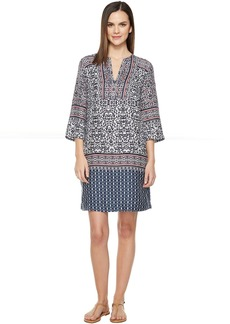 Tommy Bahama Kamari Damask Tunic Short Dress