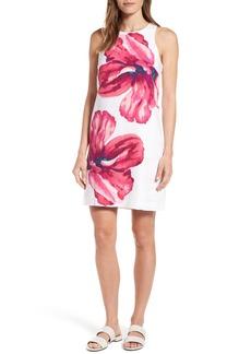 Tommy Bahama Kavala Blossoms Linen Shift Dress