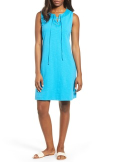 Tommy Bahama Lace-Up Shift Dress