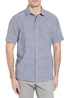 Tommy Bahama Lanai Tides Linen Blend Sport Shirt