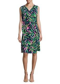 Tommy Bahama Leaf-Print Shift Dress