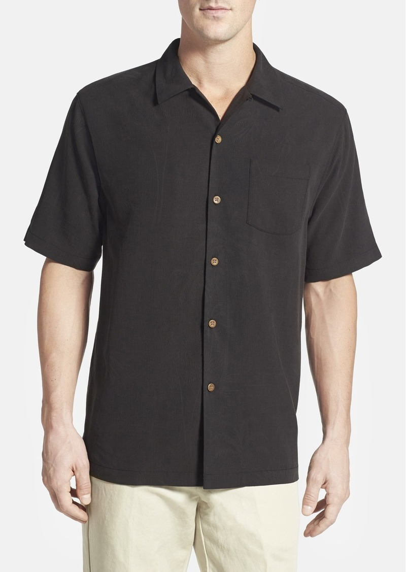 Tommy bahama tommy bahama 39 let it breathe 39 original fit for Tommy bahama embroidered silk camp shirt
