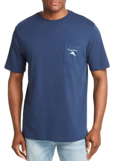 Tommy Bahama Lifetime Board Member Graphic Pocket Tee