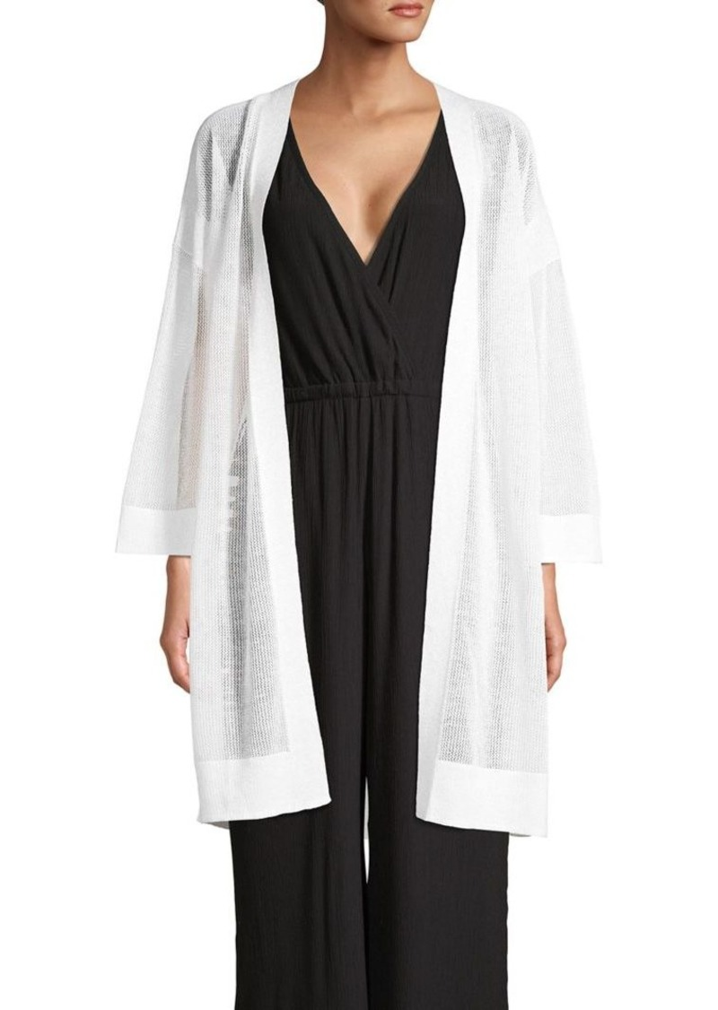 Tommy Bahama Linen-Blend Open-Front Cardigan