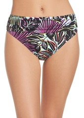 Tommy Bahama Lively Leaves High Waist Bikini Bottoms