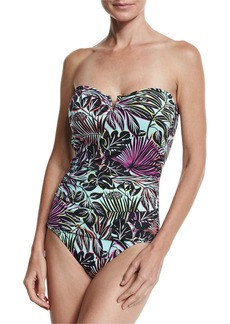 Tommy Bahama Lively Leaves V-Wire Bandini Swim Top