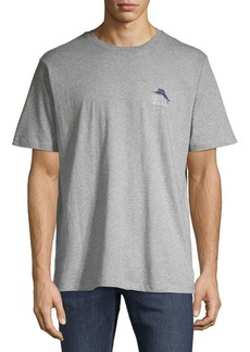 Tommy Bahama Logo Short-Sleeve Cotton Tee