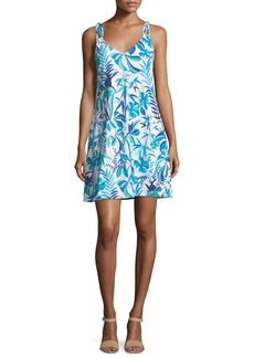 Tommy Bahama Loop-Strap A-Line Sun Dress