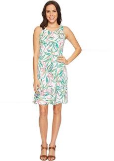 Lucky Bamboo Sleeveless Flounce Dress