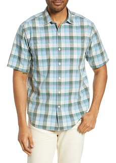 Tommy Bahama Mai Tai Classic Fit Plaid Sport Shirt