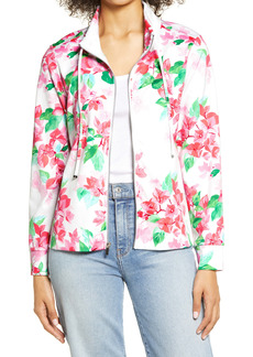 Tommy Bahama Martinique Floral Zip-Up Sweatshirt