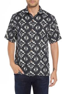 Tommy Bahama Mazatlan Geo Print Sport Shirt