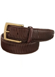 Tommy Bahama Men's Leather Braided Belt