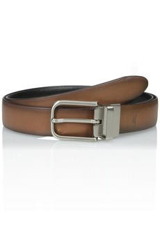 Tommy Bahama Men's Reversible Leather Belt