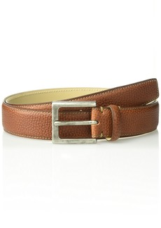 Tommy Bahama Men's 1.5 in. Genuine Italian Pebbled Leather Belt