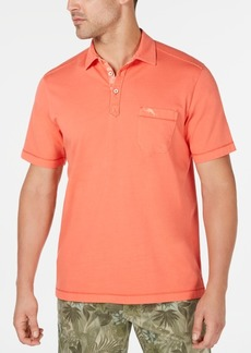 Tommy Bahama Men's Bahama Beach Pigment-Dyed Pima Cotton Polo