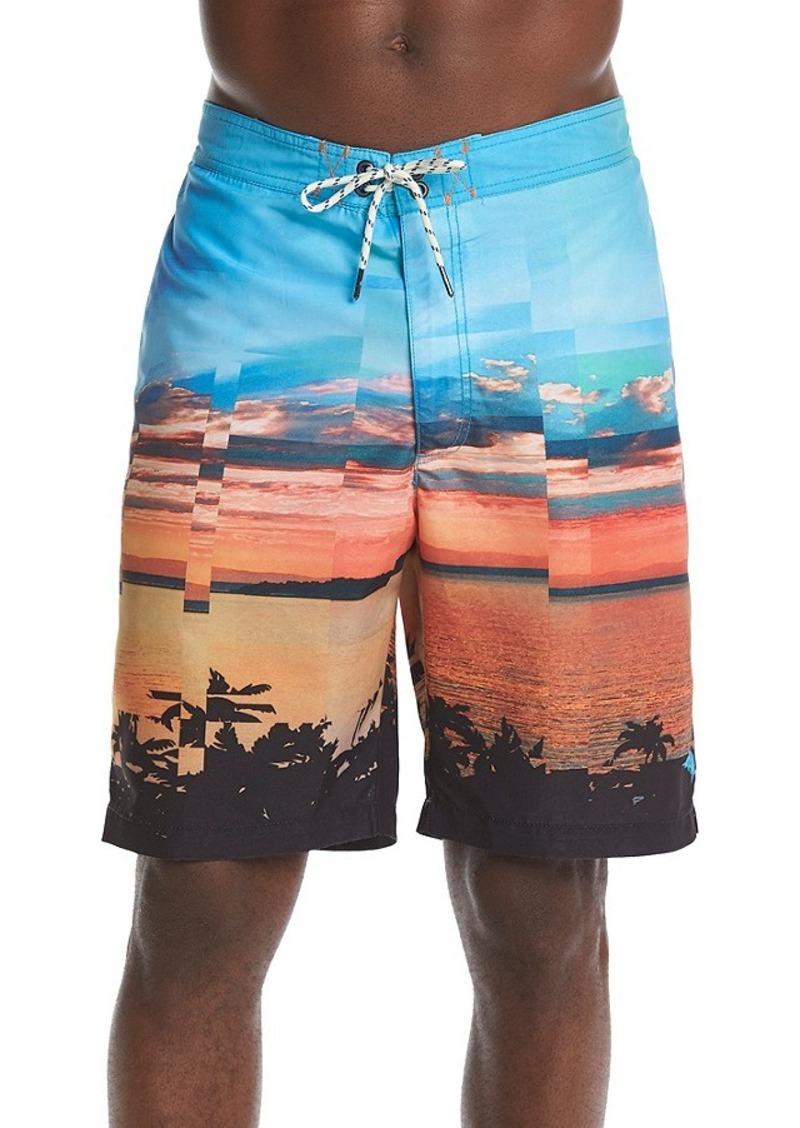 46382bd284 Tommy Bahama Tommy Bahama Men's Baja Pixel Pier 9-Inch Board Shorts ...