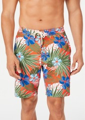 "Tommy Bahama Men's Baja Prickly Pear Tropical-Print 9"" Board Shorts"