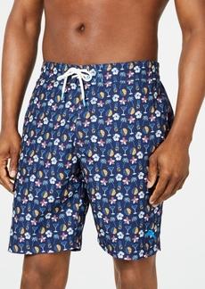 "Tommy Bahama Men's Baja Tasso Tropical-Print 9"" Board Shorts"