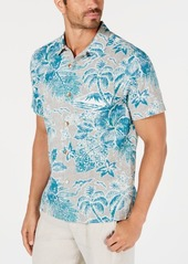 Tommy Bahama Men's Beach Batik Hawaiian Shirt