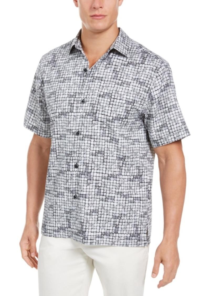 Tommy Bahama Men's Poolside Tiles Shirt