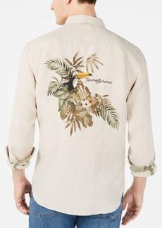 8453b2a5f7c Tommy Bahama Tommy Bahama Tropical Falls Regular Fit Print Silk Camp ...