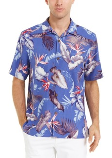 Tommy Bahama Men's Bird's Eye View Classic-Fit Floral-Print Silk Camp Shirt