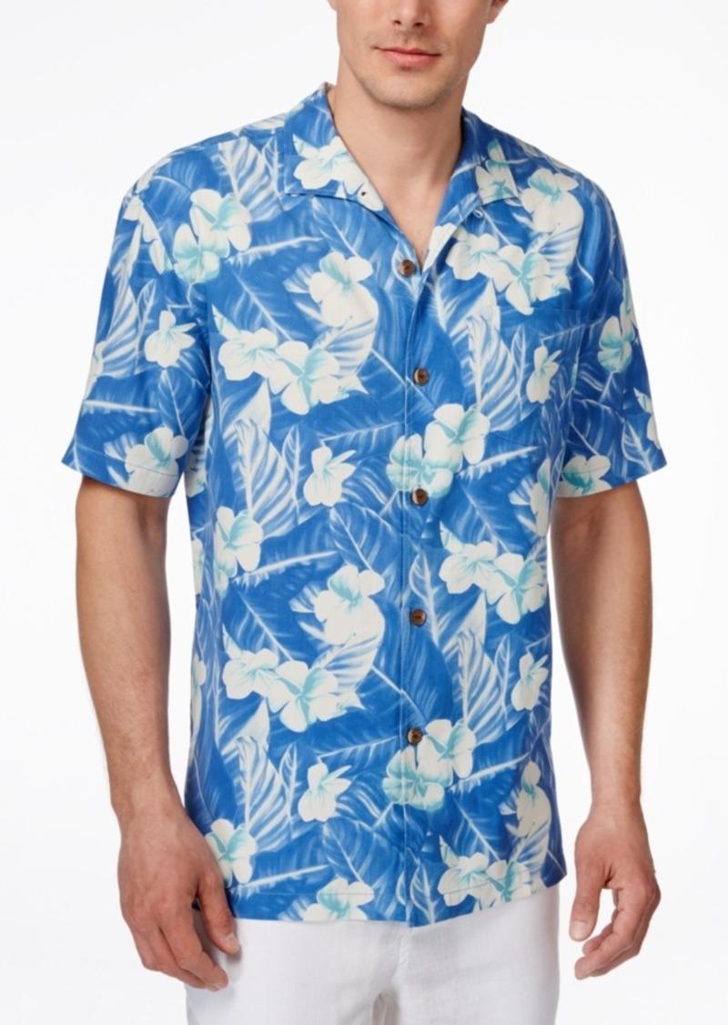 Tommy Bahama Men's Bon Jour Bloom Floral-Print Short-Sleeve Shirt