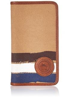 Tommy Bahama Men's Canvas Iphone7 Wallet Case-khaki