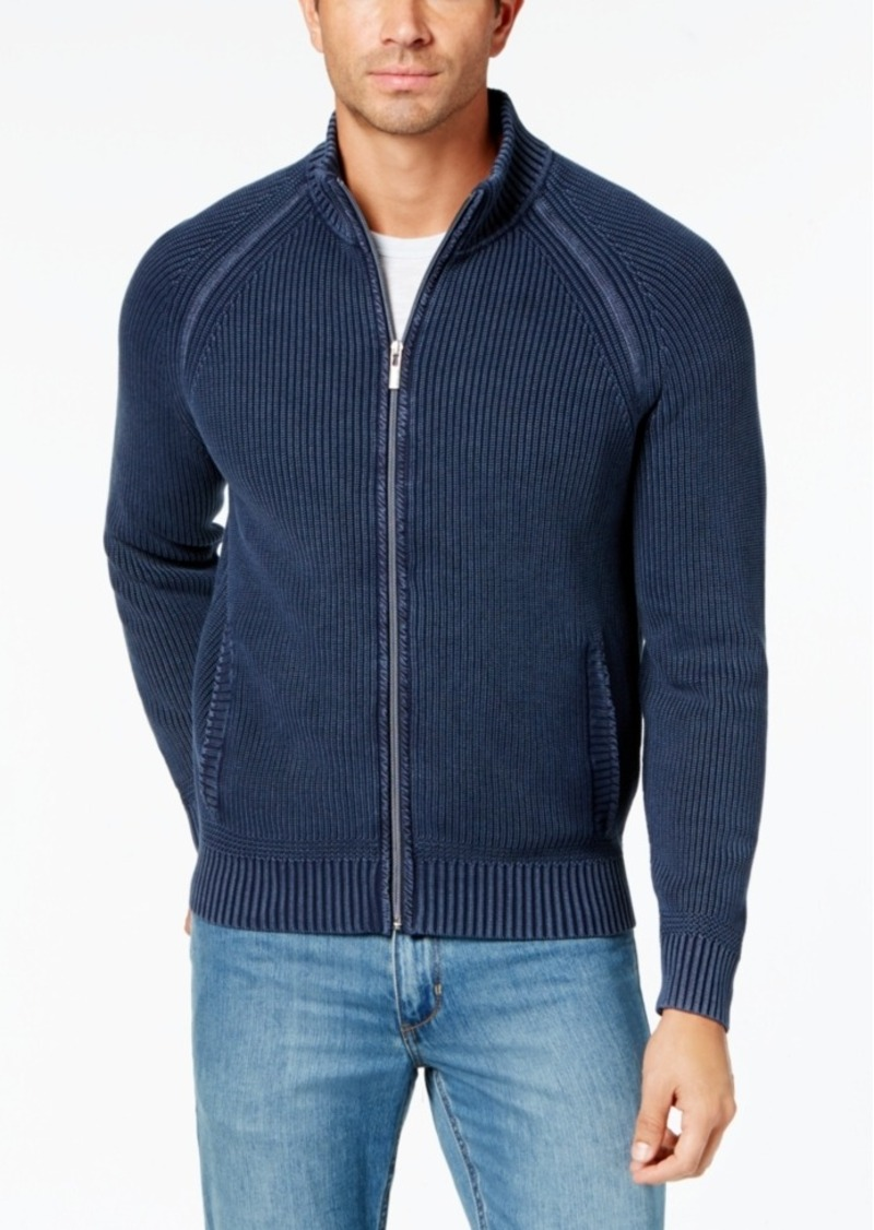 Tommy Bahama Tommy Bahama Men's Coastal Shores Ribbed-Knit Full ...