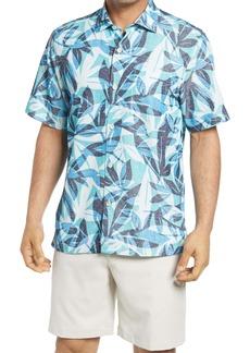 Tommy Bahama Men's Coconut Point Jungle Jive Short Sleeve Button-Up Shirt