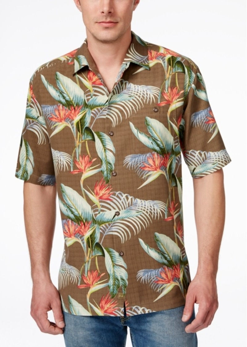 Tommy Bahama Men's Cool, Palm And Collected Floral-Print Short-Sleeve Shirt
