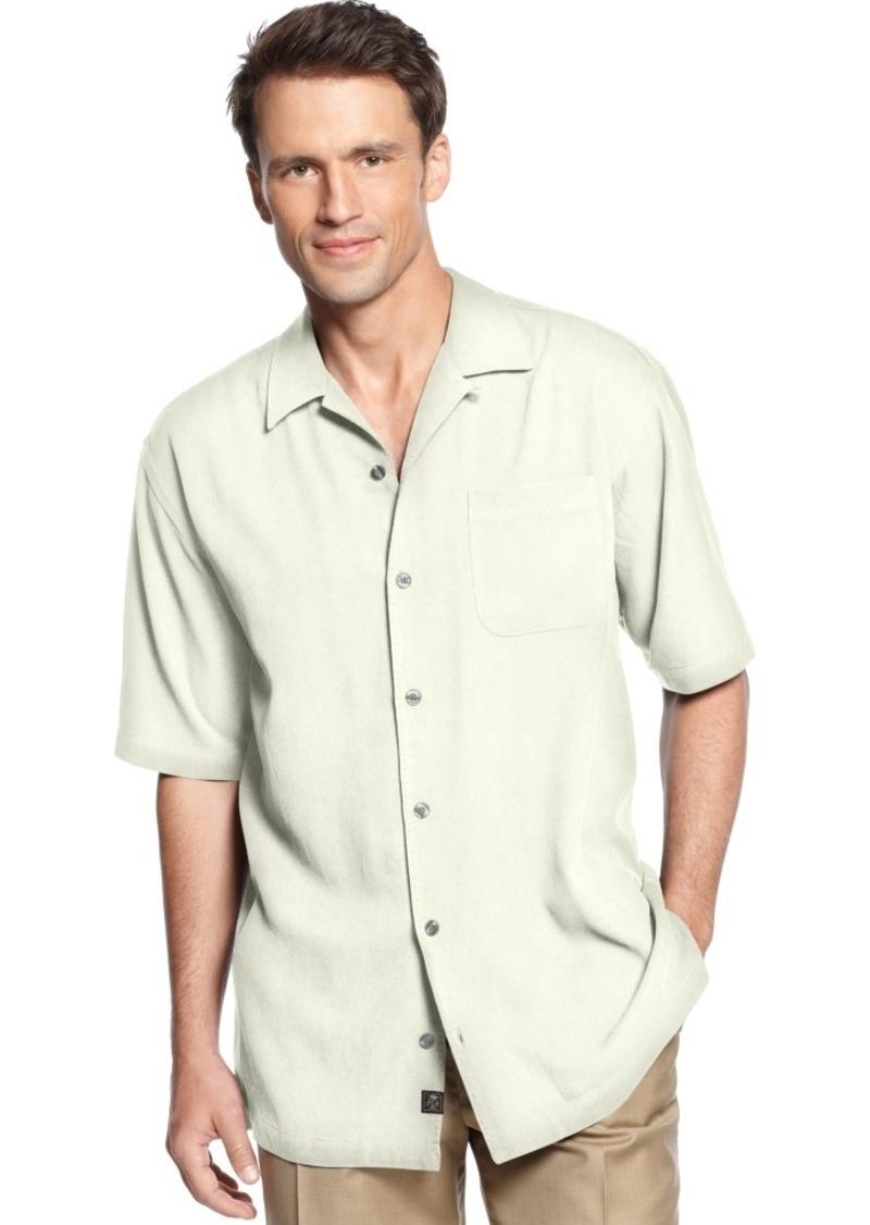 Tommy Bahama Men's Core Short-Sleeve Catalina Twill Shirt, Only at Macy's